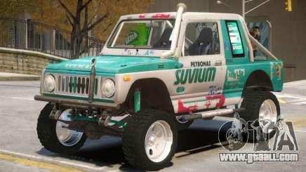 Suzuki Samurai V2 for GTA 4