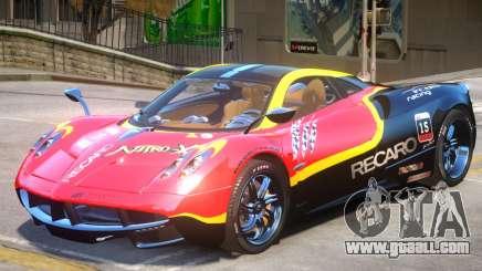 Pagani Huayra furious V1 PJ2 for GTA 4