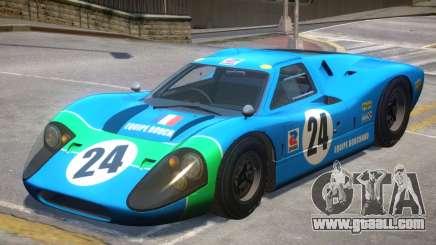 1967 Ford GT40 V1 PJ2 for GTA 4