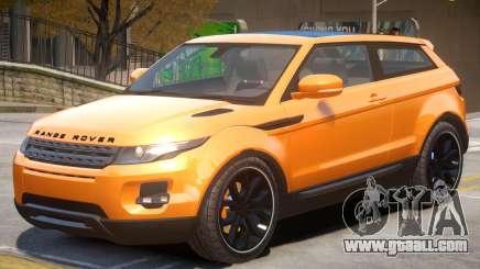 Range Rover Evoque V1 for GTA 4