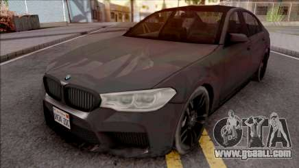 BMW M5 2019 for GTA San Andreas