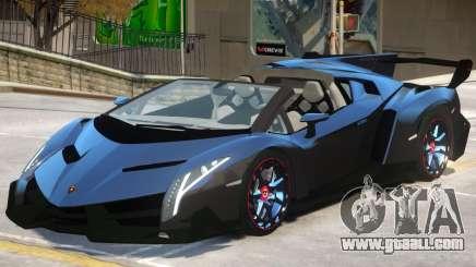 Lamborghini Veneno V1 for GTA 4