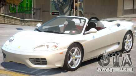 Ferrari 360 Rodster for GTA 4