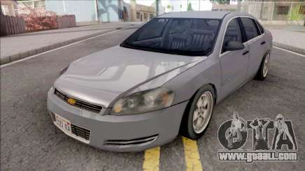 Chevrolet Impala 2007 Lowpoly for GTA San Andreas