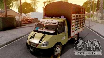 GAZ 3302 Colombiano v2 for GTA San Andreas