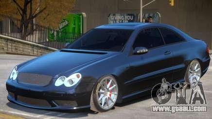 Mercedes Benz CLK63 AMG V1.1 for GTA 4