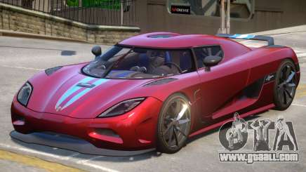 2011 Koenigsegg Agera for GTA 4