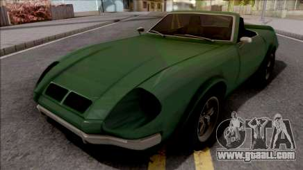 FlatOut Lancea Cabrio for GTA San Andreas
