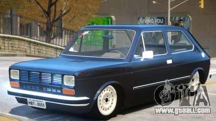 Fiat 147 V1 for GTA 4