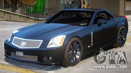 Cadillac XLR V2.1 for GTA 4