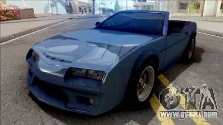 FlatOut Daytana Cabrio for GTA San Andreas