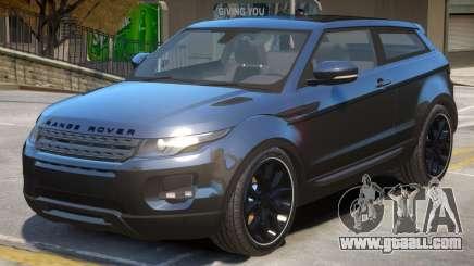 Range Rover Evoque V2 for GTA 4