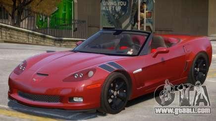 Chevrolet Corvette C6 V1 for GTA 4