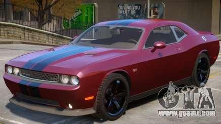 Dodge Challenger SRT V1.1 for GTA 4