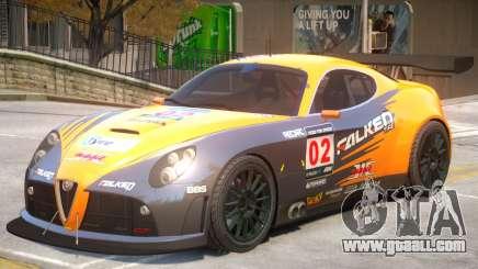 Alfa Romeo 8C V1 PJ4 for GTA 4