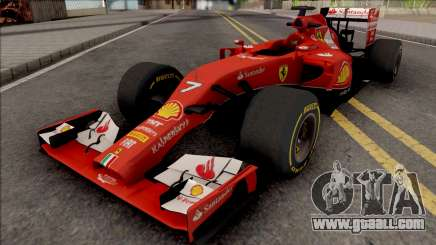 Ferrari F14 T F1 2014 for GTA San Andreas