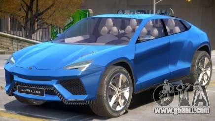 Lamborghini Urus V1 for GTA 4