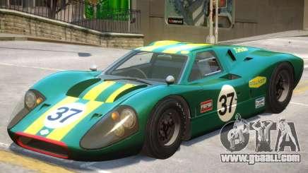 1967 Ford GT40 V1 PJ5 for GTA 4