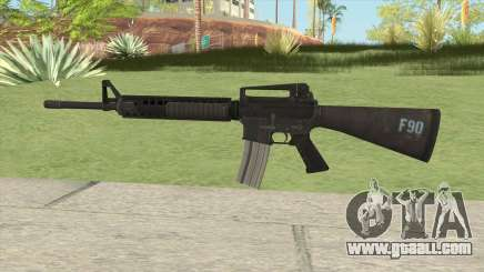 M16A4 (Insurgency) for GTA San Andreas