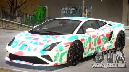 Lamborghini Gallardo V2 PJ2 for GTA 4