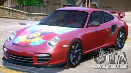 Porsche 911 GT2 PJ5 for GTA 4