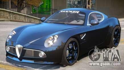 Alfa Romeo Competizione for GTA 4