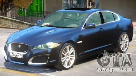 Jaguar XF-R V2 for GTA 4