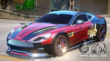 Aston Martin Vanquish PJ for GTA 4