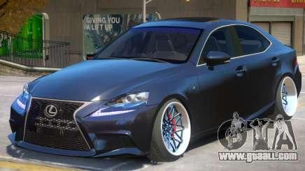 Lexus IS 350 V1.1 for GTA 4