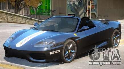 Ferrari 360 V1.2 for GTA 4