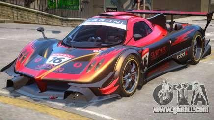 Pagani Zonda R PJ2 for GTA 4