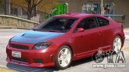 Toyota Scion V1 for GTA 4