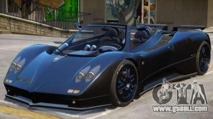 Pagani Zonda S V2 for GTA 4