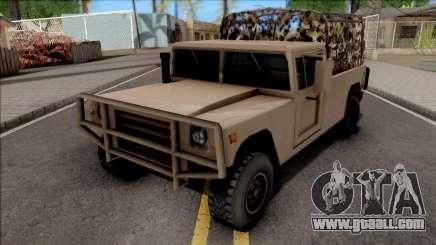 GTA V Mammoth Squaddie SA Style for GTA San Andreas