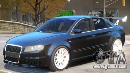 Audi RS4 Improved V2 for GTA 4