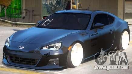 Subaru BRZ Improved for GTA 4