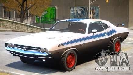 Dodge Challenger V1 PJ3 for GTA 4