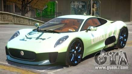 Jaguar C-X75 V1.2 PJ1 for GTA 4