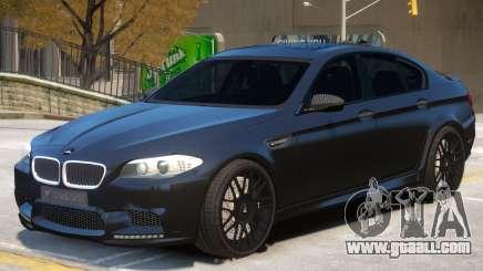 BMW M5 F10 R2 for GTA 4