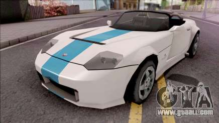 Bravado Banshee 2008 Lowpoly for GTA San Andreas