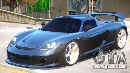 Porsche Carrera GT V1 for GTA 4