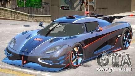 Koenigsegg One V1.2 for GTA 4