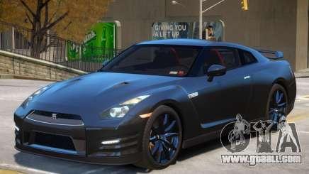 Nissan GTR V2 for GTA 4