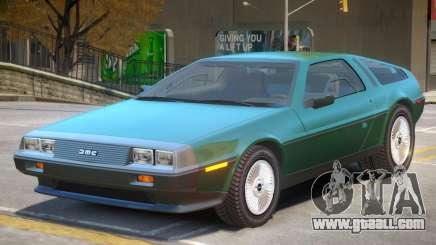 DeLorean DMC V2 for GTA 4