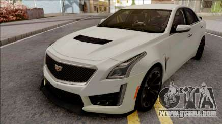 Cadillac CTS-V White for GTA San Andreas