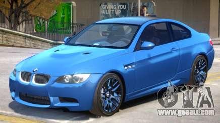 BMW M3 E92 V1.2 for GTA 4