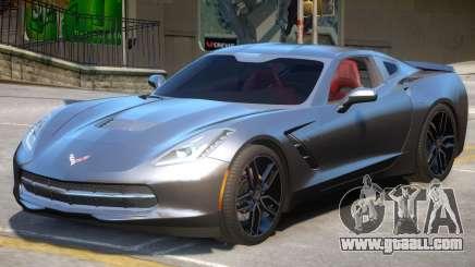 Chevrolet Corvette C7 V2 for GTA 4