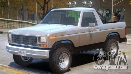 1980 Ford Bronco V1 for GTA 4