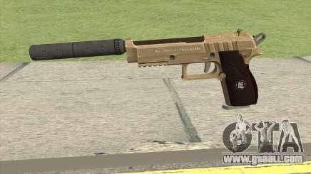 Hawk And Little Pistol GTA V (Army) V6 for GTA San Andreas