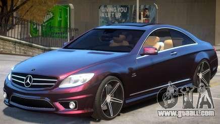 Mercedes Benz CL65 AMG V2 for GTA 4